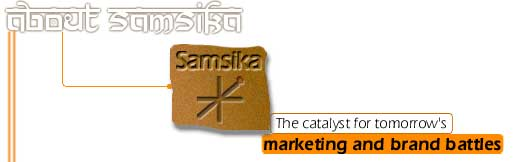 Samsika. The catalyst for tomorrow's marketing and brand battles